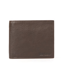 Barbour Lifestyle Mens Brown Wallet With Coin Holder