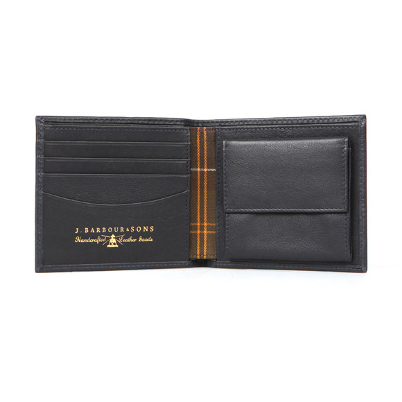 Barbour Lifestyle Mens Blue Wallet With Coin Holder main image