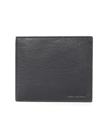 Barbour Lifestyle Mens Blue Billfold Wallet
