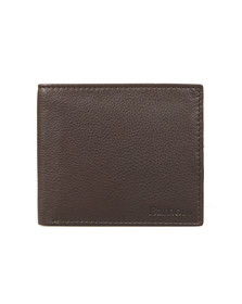 Barbour Lifestyle Mens Brown Billfold Wallet