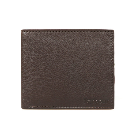 Barbour Lifestyle Mens Brown Billfold Wallet main image