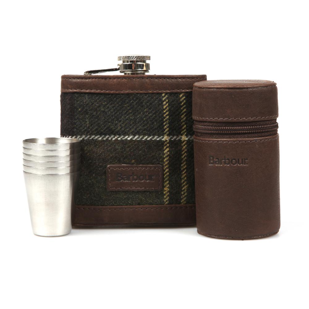 Tartan Hip Flask & Cups main image