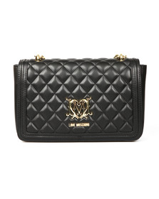 Love Moschino Womens Black Borsa Quilted Bag