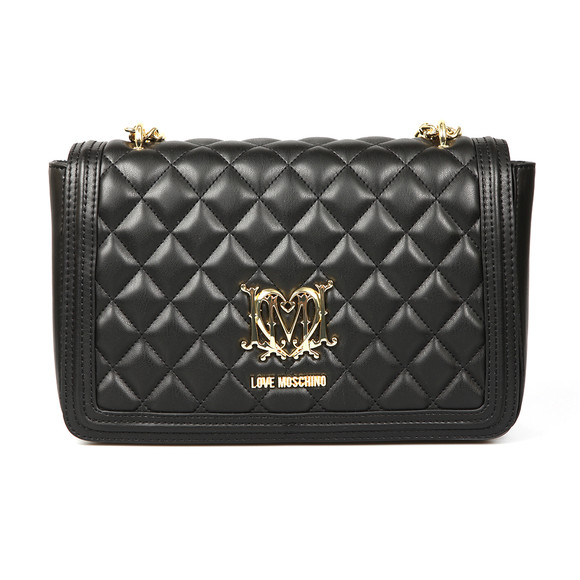 Love Moschino Womens Black Borsa Quilted Bag main image