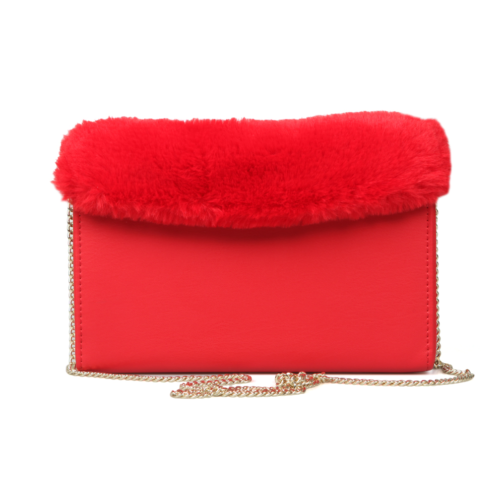 7a2c836121 Love Moschino Borsa Nappa PU & Fur Bag | Oxygen Clothing