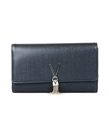Valentino by Mario Womens Blue Marilyn Clutch