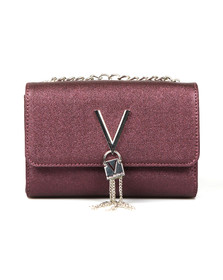Valentino by Mario Womens Red Marilyn Small Clutch