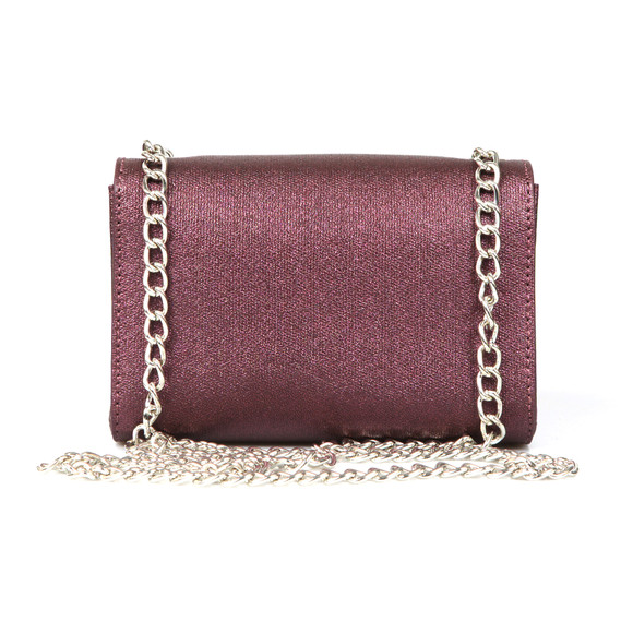 Valentino by Mario Womens Purple Marilyn Small Clutch main image