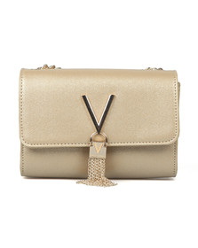 Valentino by Mario Womens Gold Marilyn Small Clutch