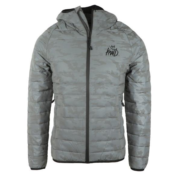 Kings Will Dream Mens Grey Lawledge Camo Jacket main image