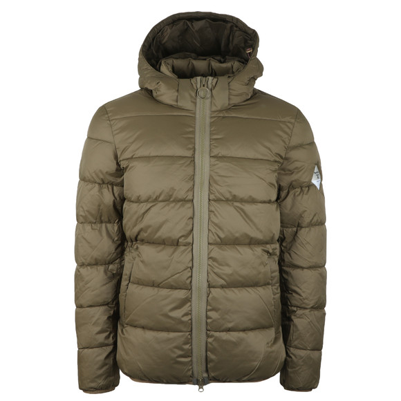 Barbour Beacon Mens Green Hike Quilt Jacket main image