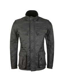 Barbour International Mens Grey Ariel Polarquilt Jacket