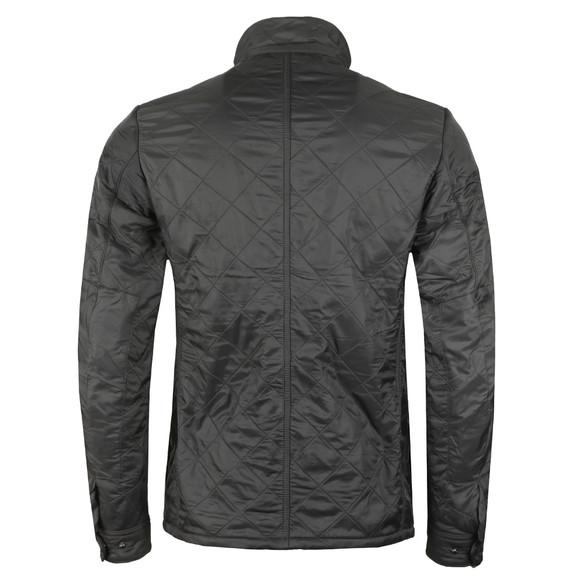Barbour International Mens Grey Ariel Polarquilt Jacket main image