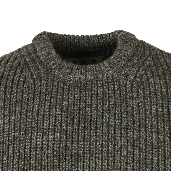 Barbour Countrywear Mens Brown New Tyne Jumper main image