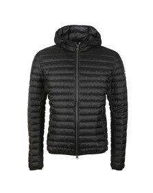 Colmar Mens Black Light Down Fixed Hood Jacket