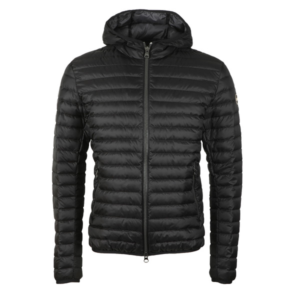 Colmar Mens Black Light Down Fixed Hood Jacket main image