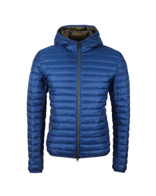 Colmar Mens Blue Light Down Fixed Hood Jacket