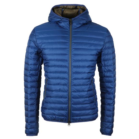 Colmar Mens Blue Light Down Fixed Hood Jacket