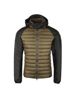 Light Down Jacket In Two Tone