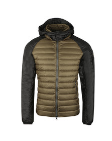 Colmar Mens Beige Light Down Jacket In Two Tone