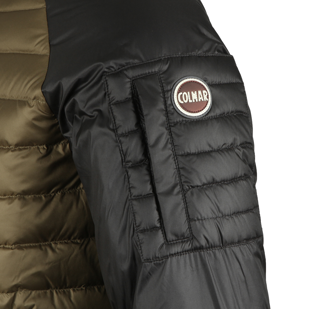 Light Down Jacket In Two Tone main image
