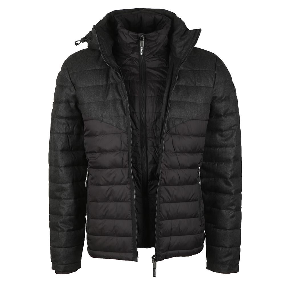 Tweed Mix Chevron Fuji Jacket main image