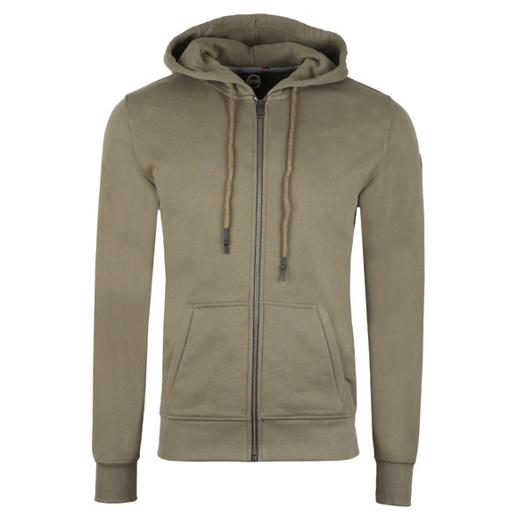Colmar Mens Green Full Zip Hoody main image
