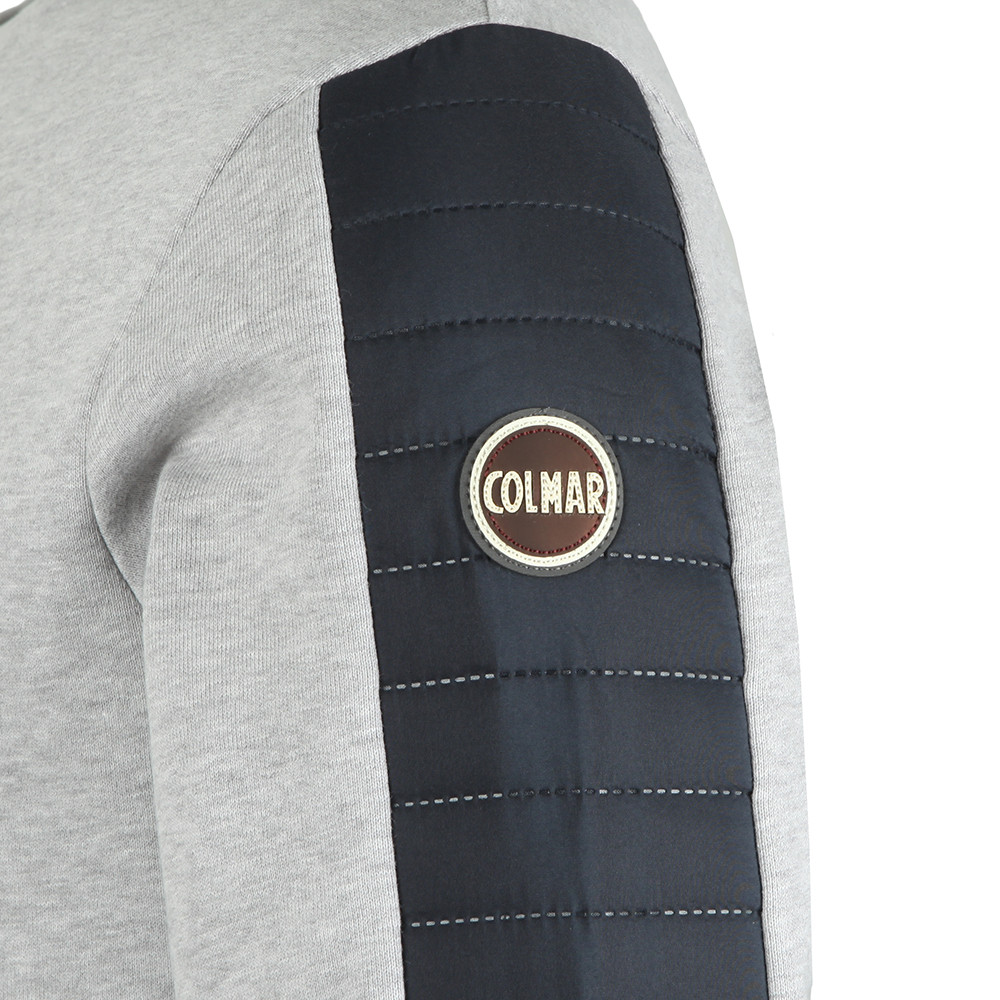 Sweatshirt With Padded Sleeve Detail main image
