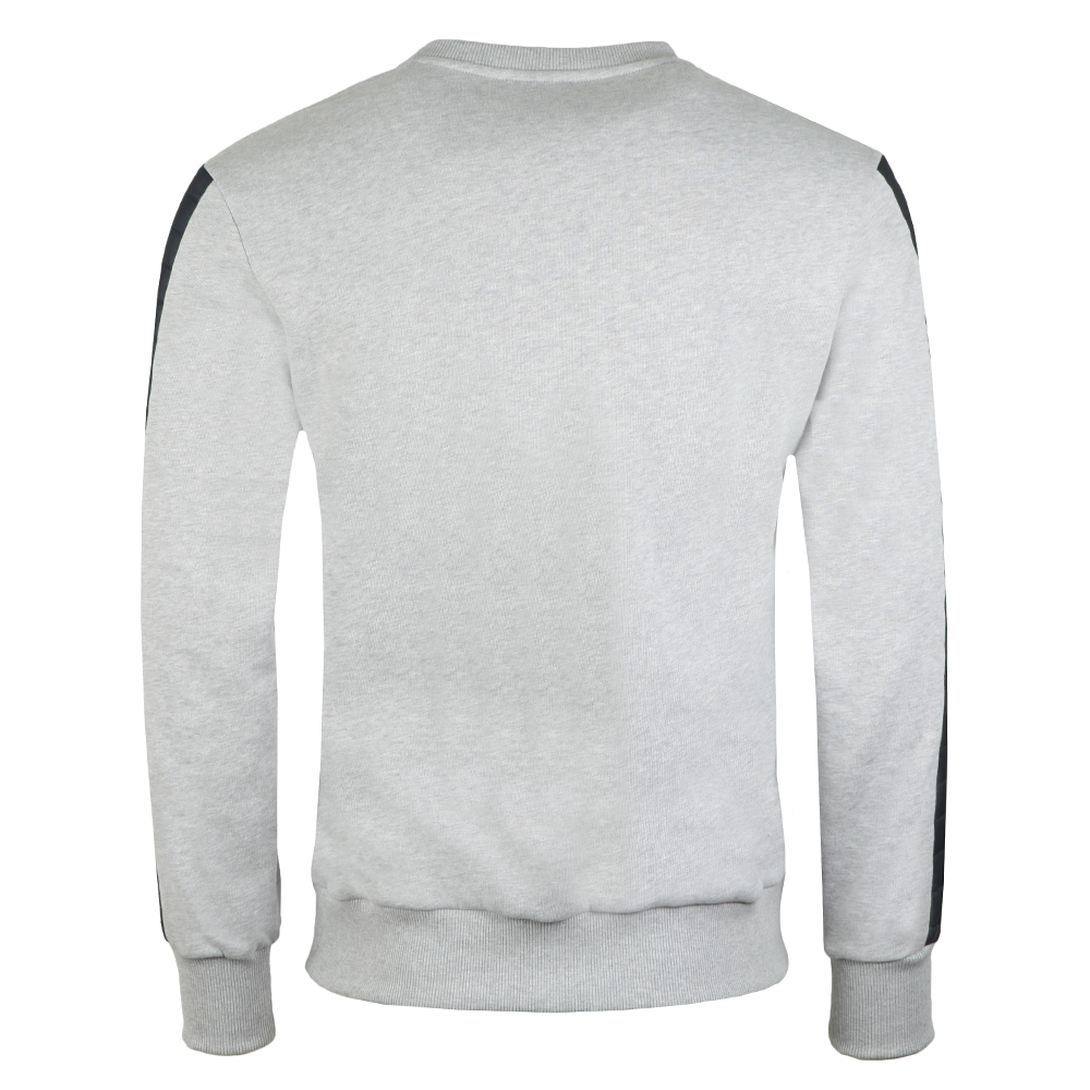 Sweatshirt With Padded Sleeve Detail main image