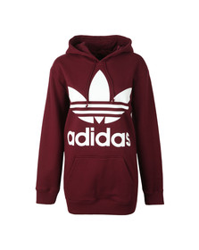 adidas Originals Womens Red BF TRF Hoody