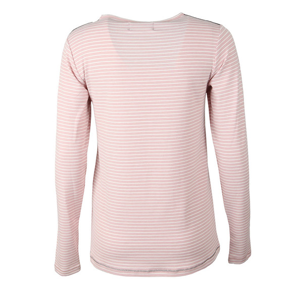 Superdry Womens Pink Amelia Sparkle Graphic Top main image