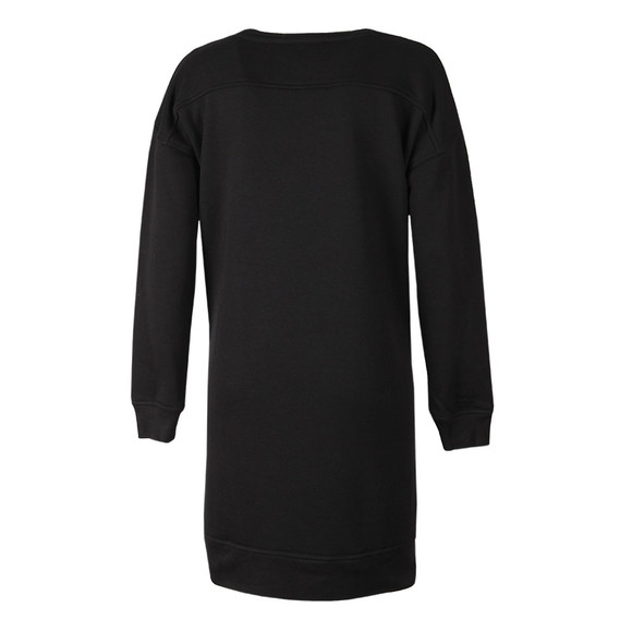 French Connection Womens Black Emilia Sequin Sweat Dress main image