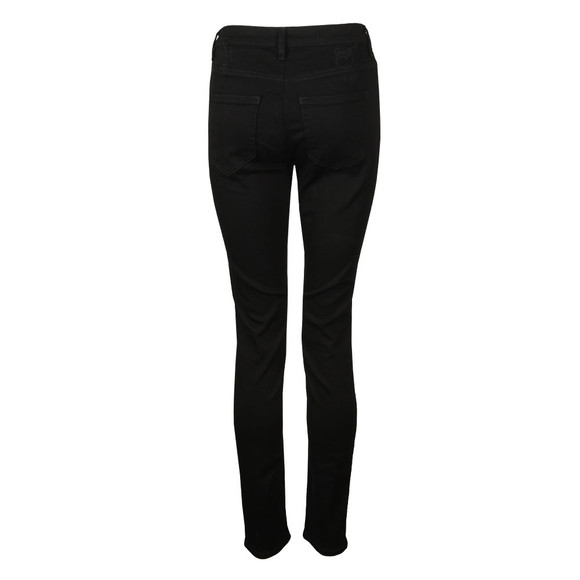 Vivienne Westwood Anglomania Womens Black High Waist Slim Jean