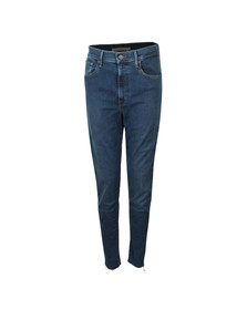 Levi's Womens Blue Mile High Super Skinny Jean