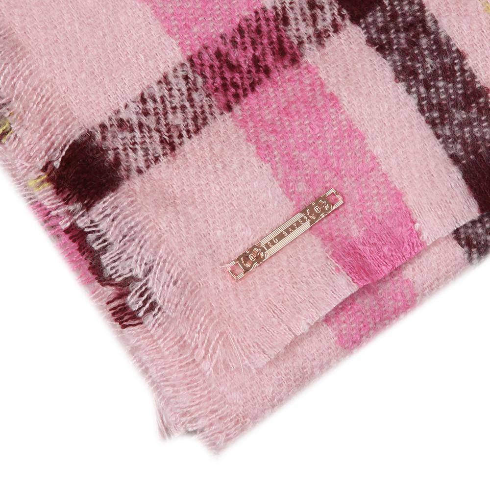 Baiilee Boucle Check Wide Blanket main image