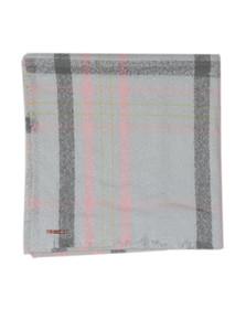 Ted Baker Womens Grey Baiilee Boucle Check Wide Blanket