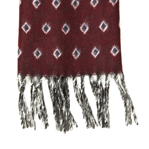 Ted Baker Mens Red Lifton Diamond Scarf main image