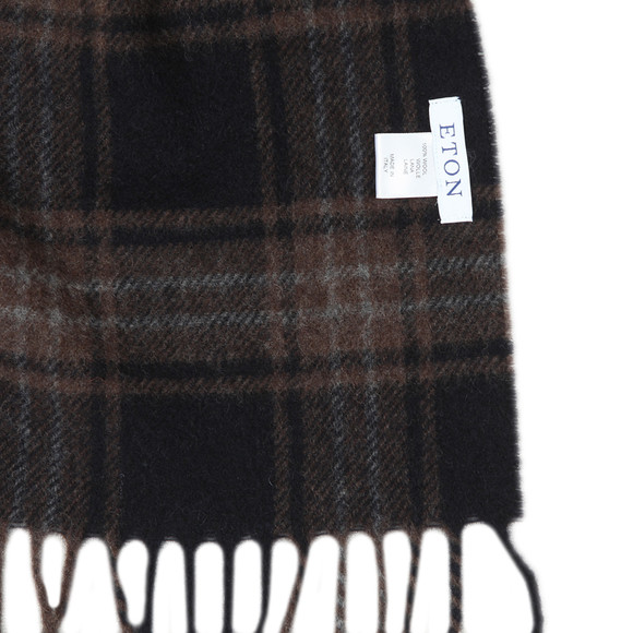 Eton Mens Brown Scarf