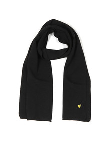 Lyle and Scott Mens Black Scarf