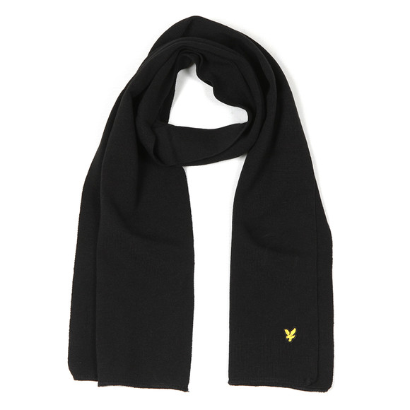 Lyle and Scott Mens Black Scarf main image