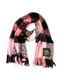 Superdry Womens Pink Super Orkney Scarf