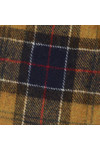 Barbour Lifestyle Mens Blue Tartan Lambswool Scarf