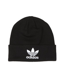 Adidas Originals Mens Black Trefoil Beanie