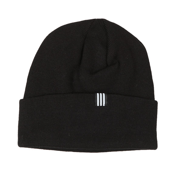 adidas Originals Mens Black Trefoil Beanie main image