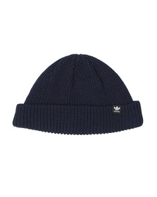 adidas Originals Mens Blue Short beanie
