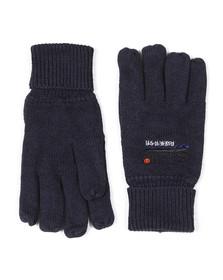 Superdry Mens Blue Orange Label Glove