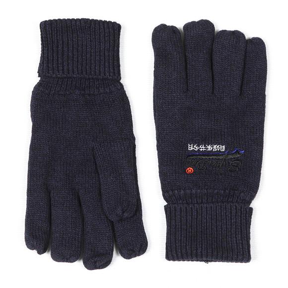 Superdry Mens Blue Orange Label Glove main image
