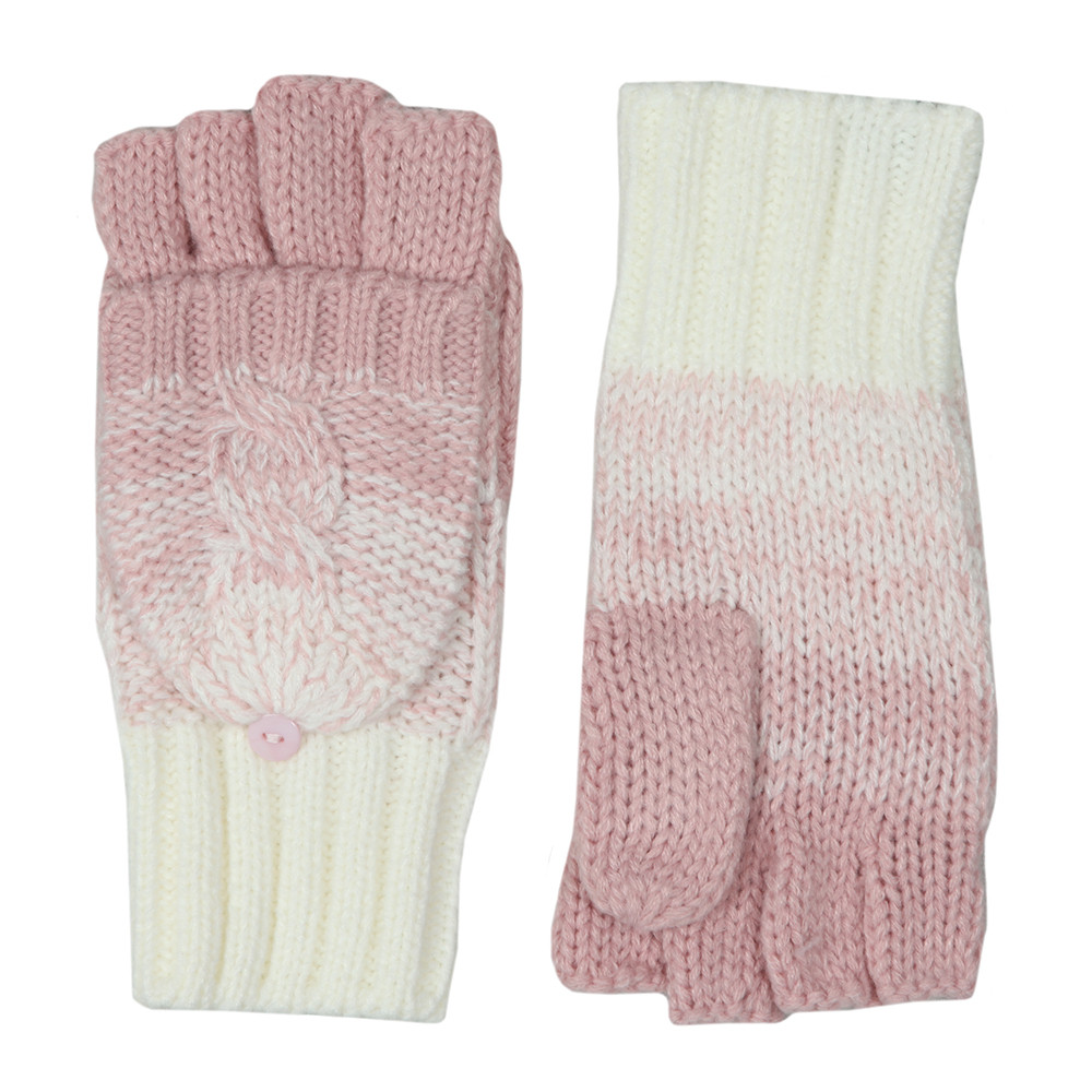 Clarrie Cable Mittens main image