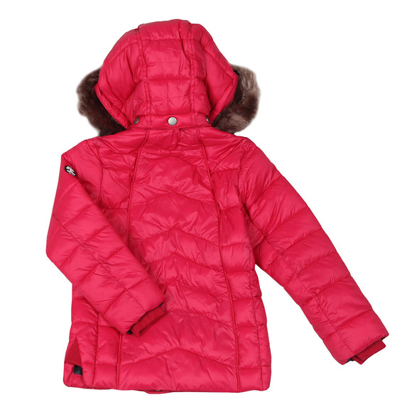 Barbour Lifestyle Girls Red Girls Bernera Quilt main image