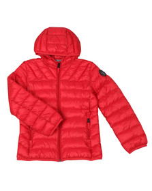 Napapijri Boys Red Aerons Jacket